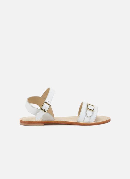 Sandales et nu-pieds 70/30 Ales Blanc vue derrière
