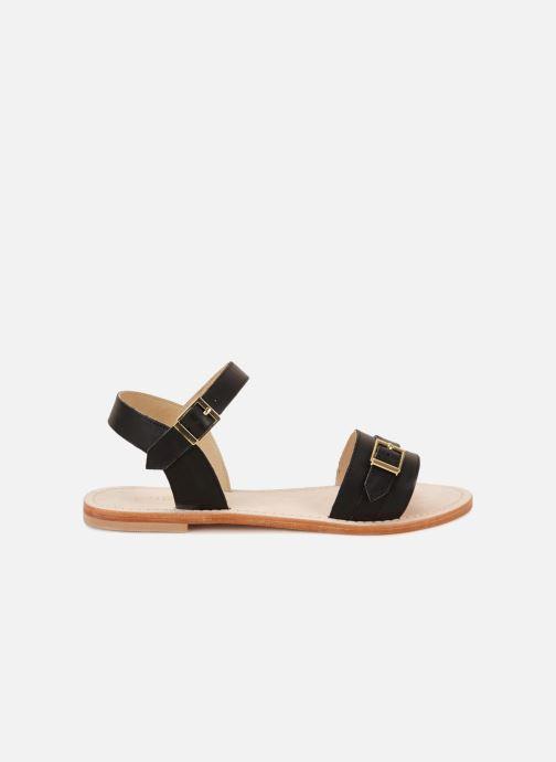 Sandales et nu-pieds 70/30 Ales Noir vue derrière