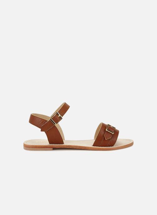 Sandales et nu-pieds 70/30 Ales Marron vue derrière
