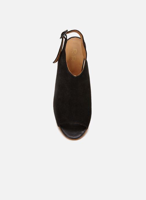 Sandales et nu-pieds 70/30 Palavas Noir vue face