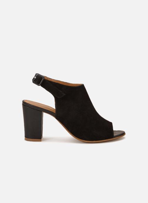 Sandales et nu-pieds 70/30 Palavas Noir vue derrière