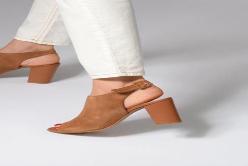 Sandales et nu-pieds 70/30 Palavas Marron vue bas / vue portée sac