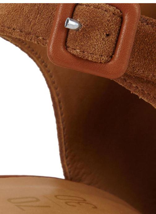 Sandales et nu-pieds 70/30 Palavas Marron vue droite