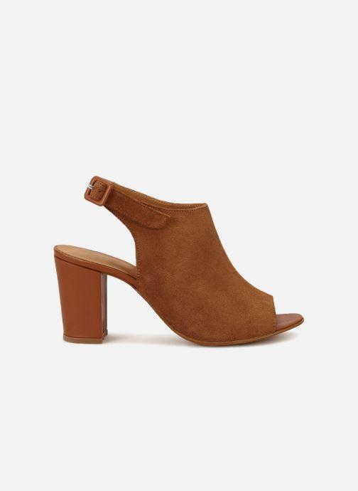 Sandales et nu-pieds 70/30 Palavas Marron vue derrière