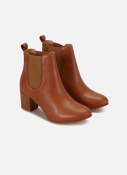 Bottines et boots 70/30 Etretat Marron vue détail/paire