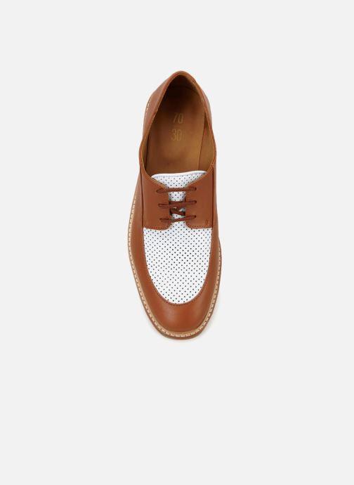 Chaussures à lacets 70/30 Gatsby Marron vue face
