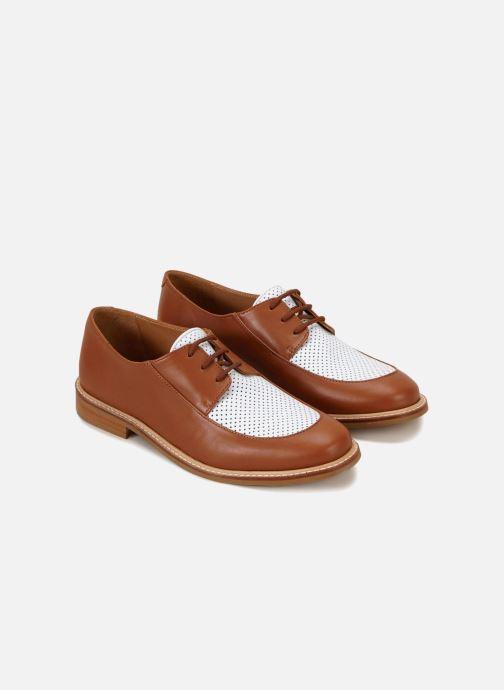Chaussures à lacets 70/30 Gatsby Marron vue détail/paire
