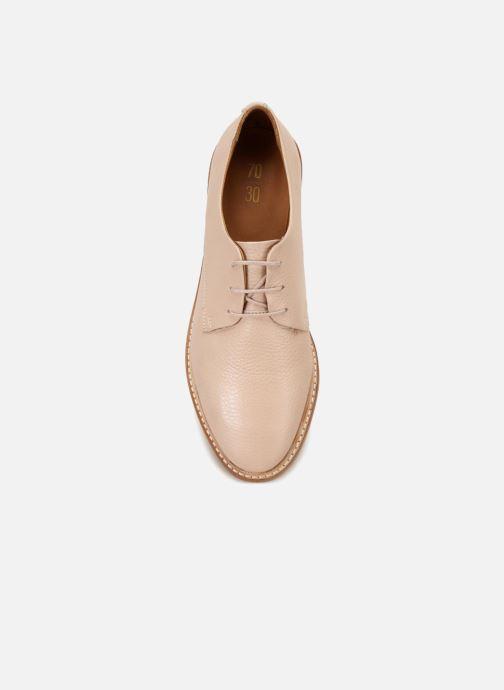 Chaussures à lacets 70/30 Avignon Rose vue face