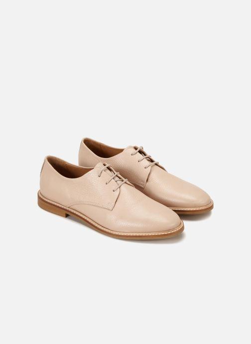 Chaussures à lacets 70/30 Avignon Rose vue détail/paire