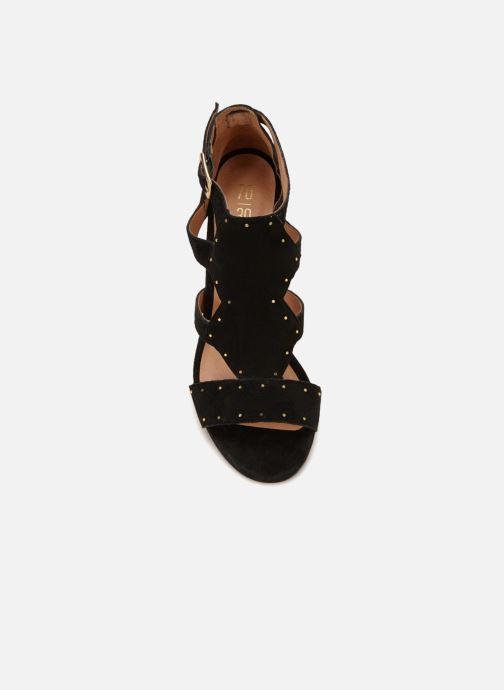 Sandales et nu-pieds 70/30 Eze Noir vue face