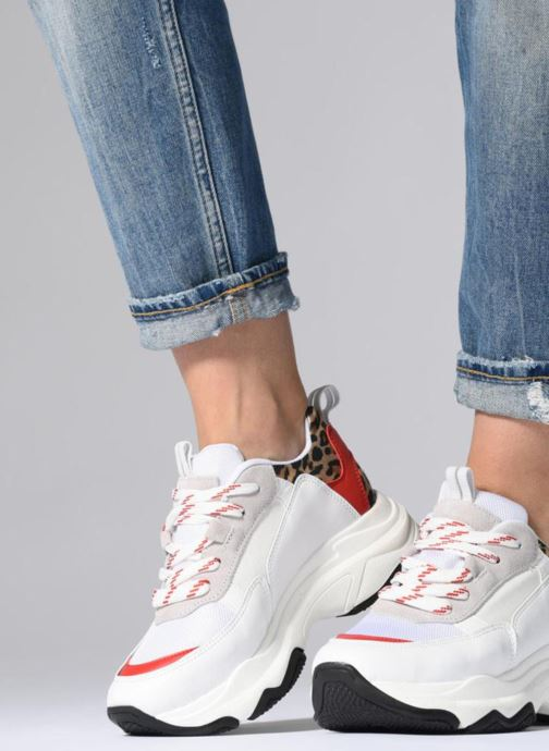 Sneakers I Love Shoes THIMINENCE Leather Wit onder