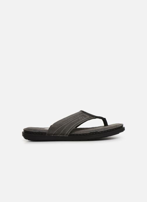 Zehensandalen I Love Shoes THONG Leather schwarz ansicht von hinten
