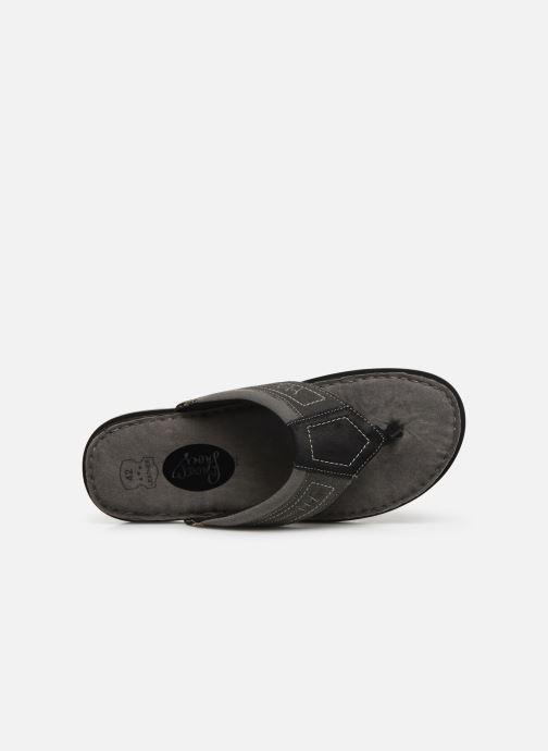 Tongs I Love Shoes THONG Leather Noir vue gauche