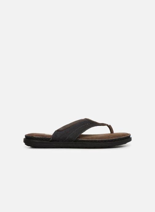 Tongs I Love Shoes THONG Leather Marron vue derrière