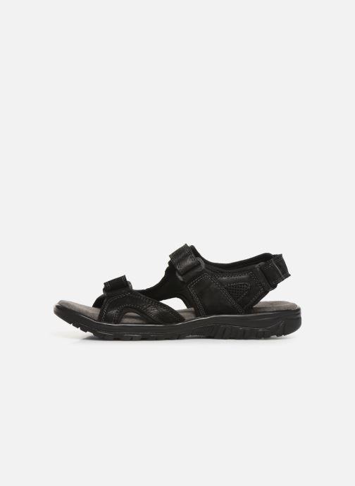 Sandales et nu-pieds I Love Shoes THANDAL Leather Noir vue face