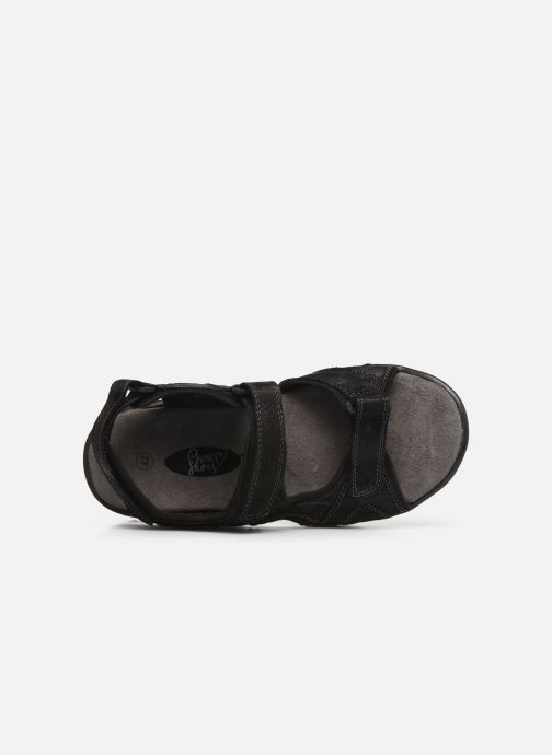 Sandales et nu-pieds I Love Shoes THANDAL Leather Noir vue gauche