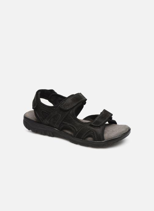Sandaler I Love Shoes THANDAL Leather Sort detaljeret billede af skoene