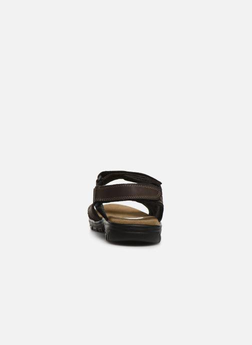 Sandales et nu-pieds I Love Shoes THANDAL Leather Marron vue droite