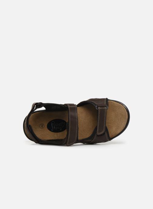 Sandales et nu-pieds I Love Shoes THANDAL Leather Marron vue gauche