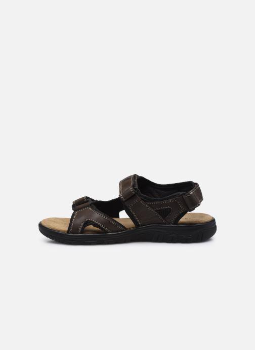Sandales et nu-pieds I Love Shoes THANDAL Leather Marron vue face