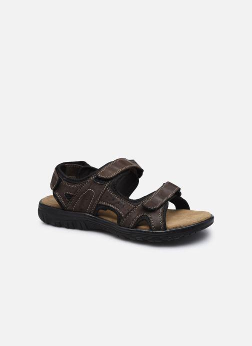 Sandales et nu-pieds I Love Shoes THANDAL Leather Marron vue détail/paire