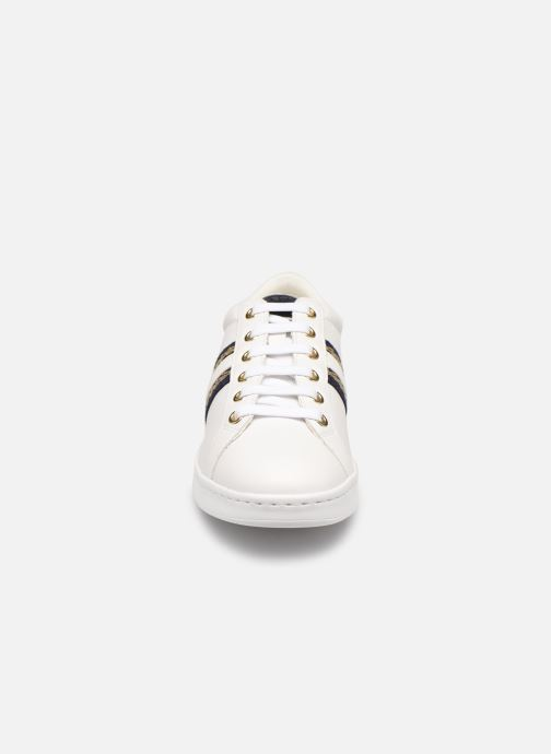 Baskets Geox D JAYSEN D921BA Blanc vue portées chaussures