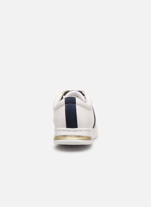 Baskets Geox D JAYSEN D921BA Blanc vue droite