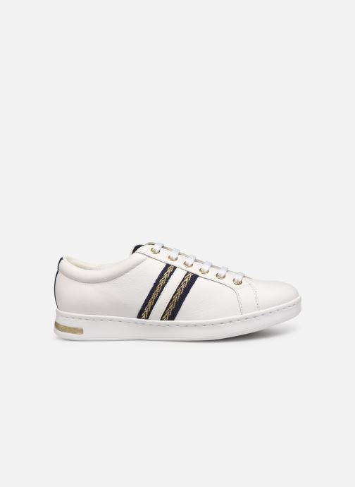 Trainers Geox D JAYSEN D921BA White back view