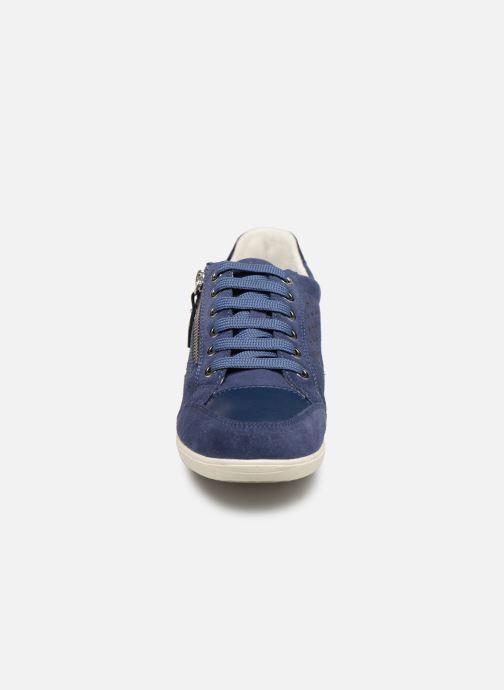 Baskets Geox D MYRIA A D9268A Bleu vue portées chaussures