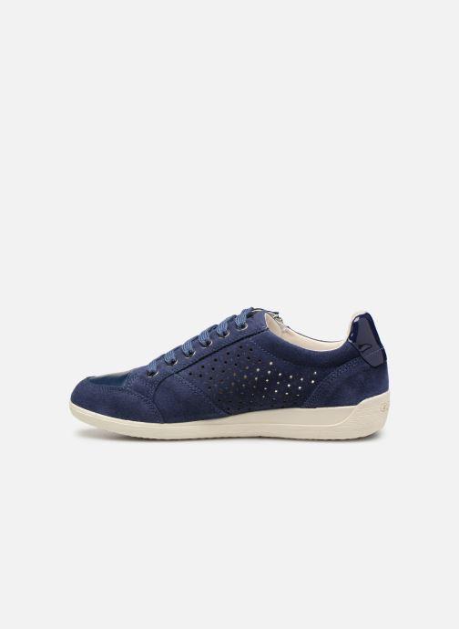 Sneakers Geox D MYRIA A D9268A Blauw voorkant