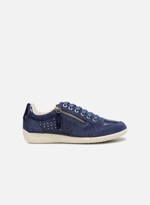 Sneakers Geox D MYRIA A D9268A Blauw achterkant