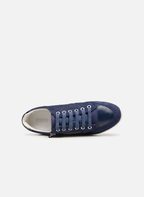 Sneakers Geox D MYRIA A D9268A Blauw links