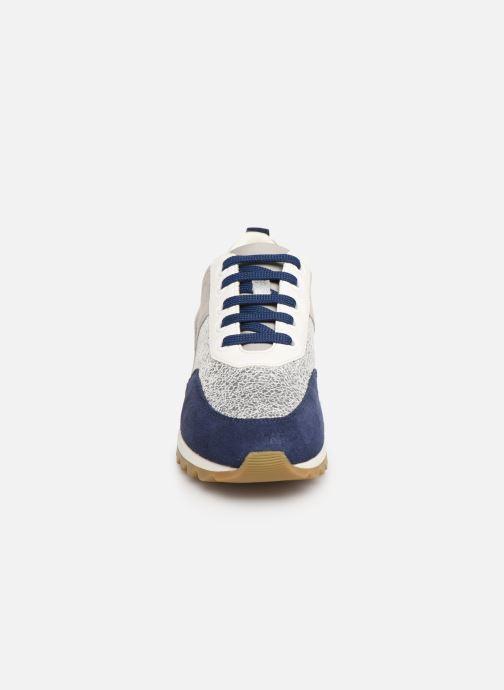 Baskets Geox D TABEYLIA D84AQB B Gris vue portées chaussures