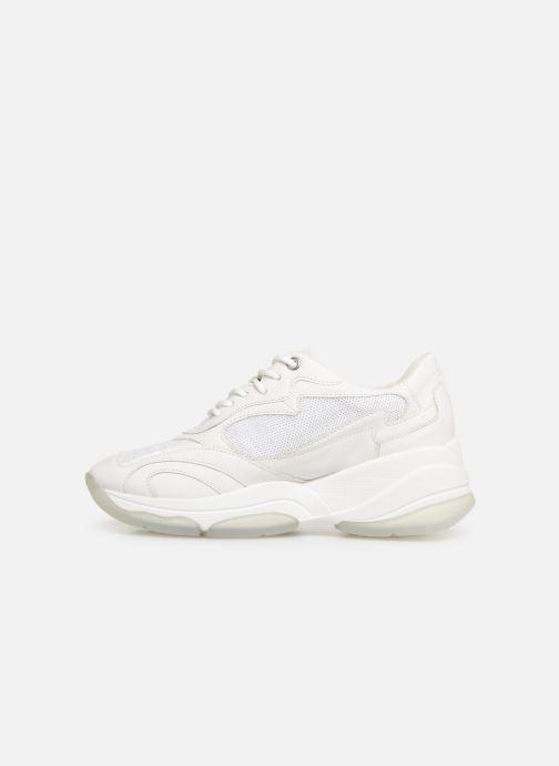 Sneakers Geox D KIRKYA B D92BPB Bianco immagine frontale