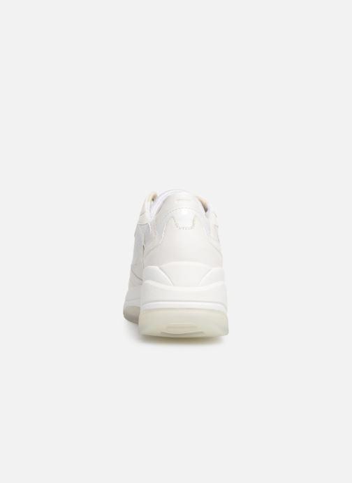 Sneakers Geox D KIRKYA B D92BPB Vit Bild från höger sidan