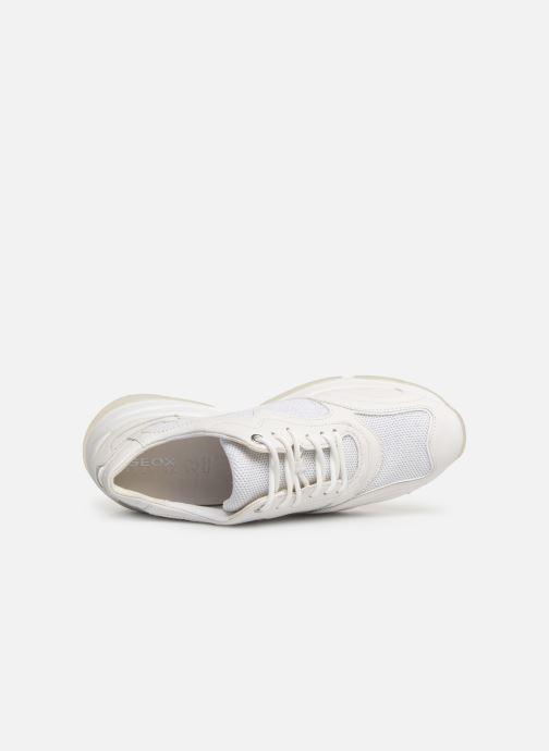 Sneakers Geox D KIRKYA B D92BPB Bianco immagine sinistra