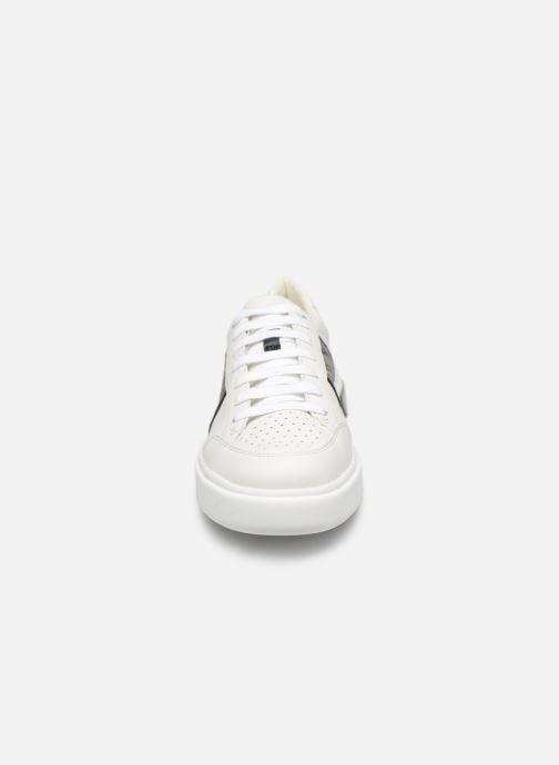 Baskets Geox D OTTAYA C D92BYC Blanc vue portées chaussures