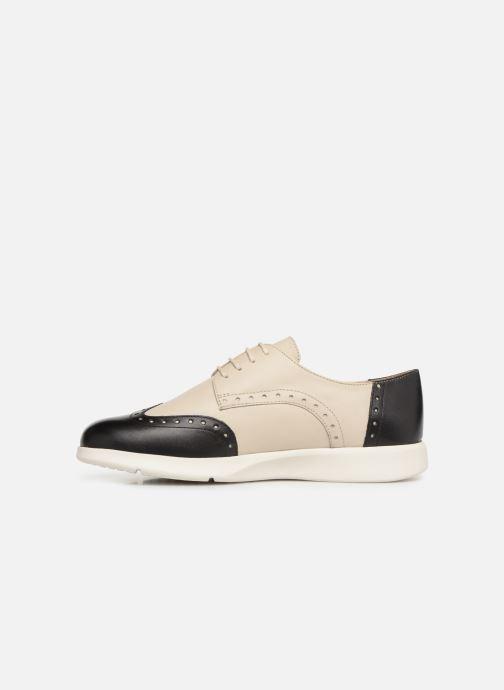 Zapatos con cordones Geox D ARJOLA F D92DHF Beige vista de frente