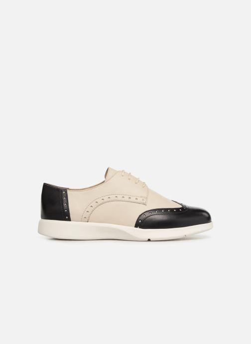 Chaussures à lacets Geox D ARJOLA F D92DHF Beige vue derrière