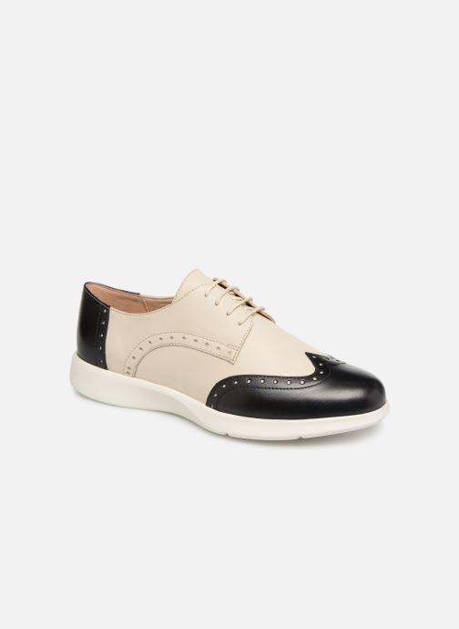 Chaussures à lacets Geox D ARJOLA F D92DHF Beige vue détail/paire