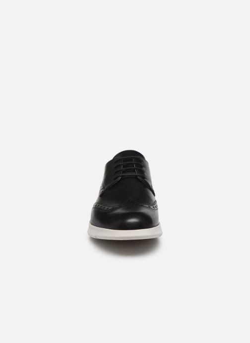 Chaussures à lacets Geox D ARJOLA F D92DHF Noir vue portées chaussures