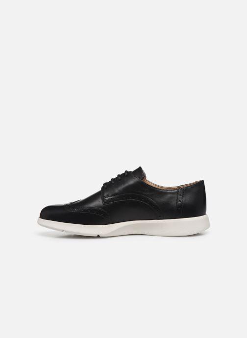 Chaussures à lacets Geox D ARJOLA F D92DHF Noir vue face