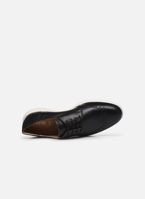 Chaussures à lacets Geox D ARJOLA F D92DHF Noir vue gauche