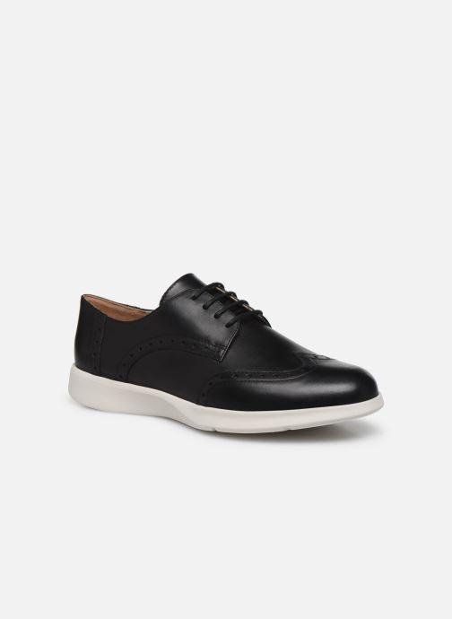 Chaussures à lacets Geox D ARJOLA F D92DHF Noir vue détail/paire