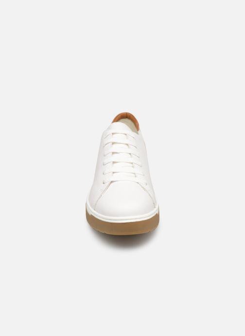 Baskets Geox D KAPHA A D92DAA Blanc vue portées chaussures