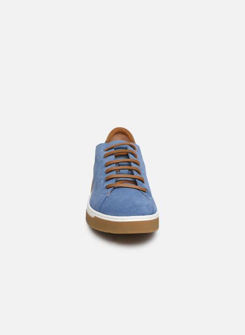 Baskets Geox D KAPHA A D92DAA Bleu vue portées chaussures
