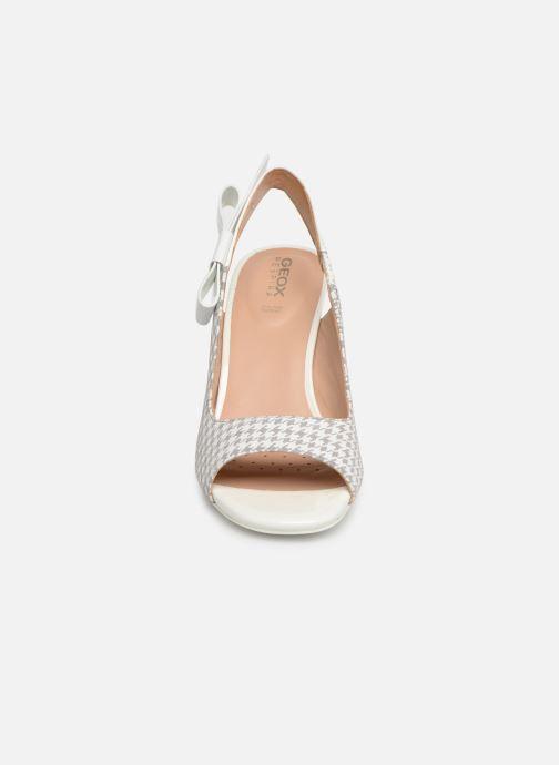 Escarpins Geox D ELISANGEL C D92CVC Gris vue portées chaussures