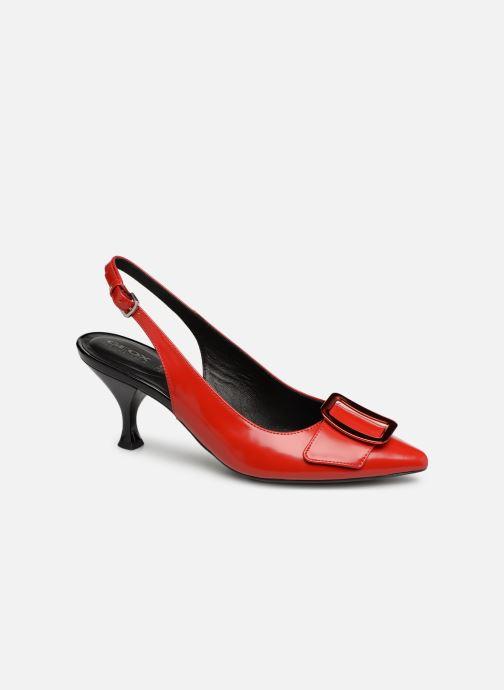Zapatos de tacón Geox D ELISANGEL MID B D92BWB Rojo vista de detalle / par