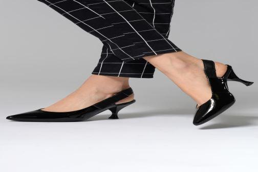 Zapatos de tacón Geox D ELISANGEL MID A D92BWA Negro vista de abajo