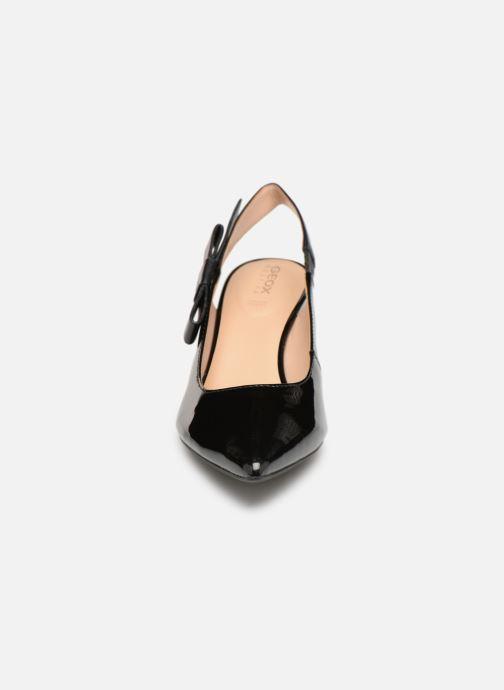 Zapatos de tacón Geox D ELISANGEL MID A D92BWA Negro vista del modelo